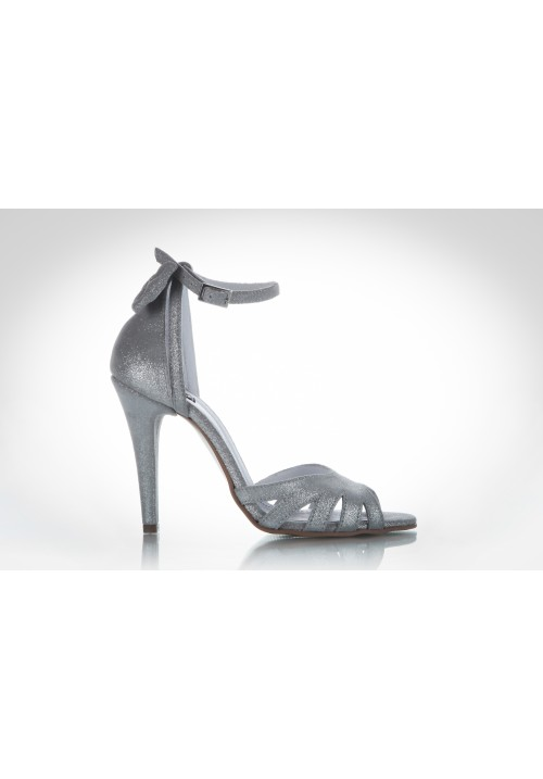 Sandals Shiny grey